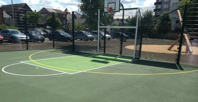 Basketball Court Cost in Wrentnall