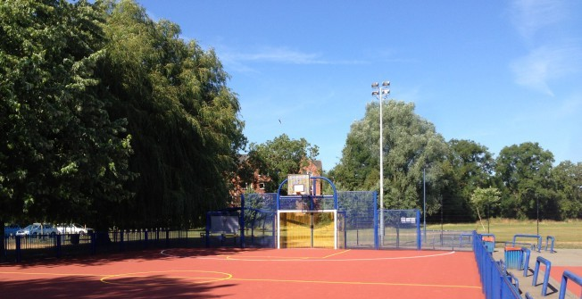 Basketball Surface Specification in Abergynolwyn