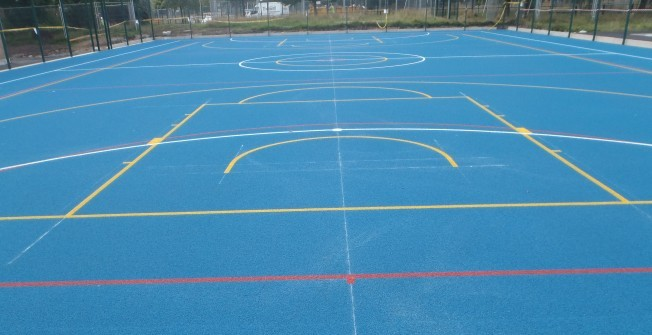 Sports Court Specialists in Derbyshire