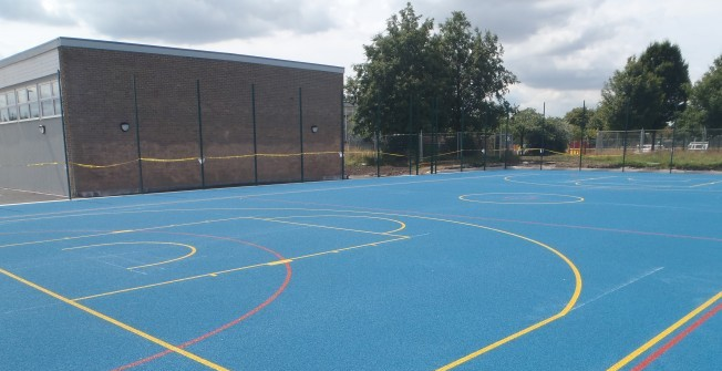 Basketball Surface Dimensions in Milton of Leys