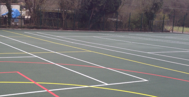 MUGA Court Specialists in Cwrtnewydd