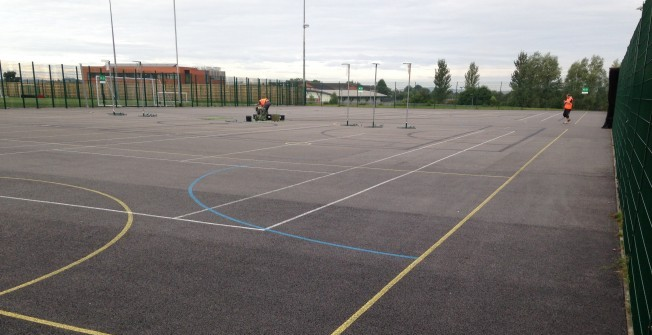 Basketball Facility Cleaning in Cobley Hill