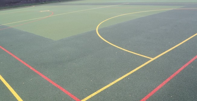 Basketball Surface Repair in Aberlemno